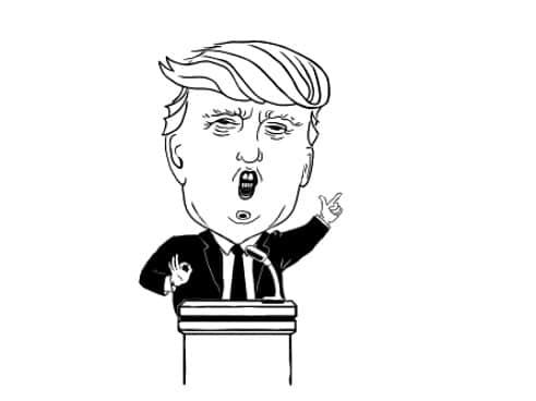 Trump, weed,
