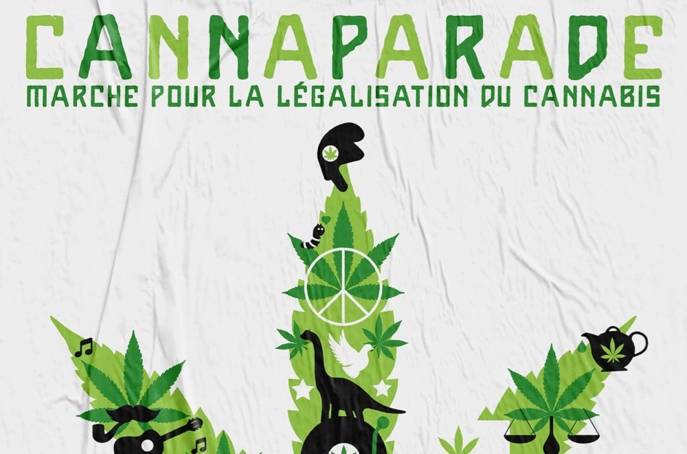 Cannaparade, Paris, 2021,