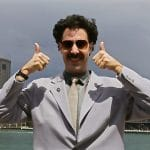 Sacha Baron Cohen, cannabis, weed, Borat,